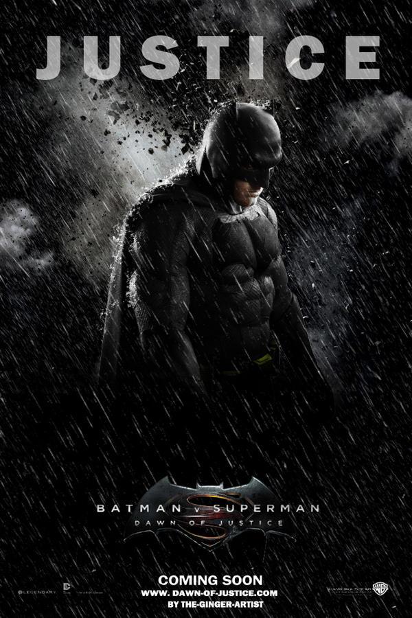 Dawn of justice Poster (Batman)