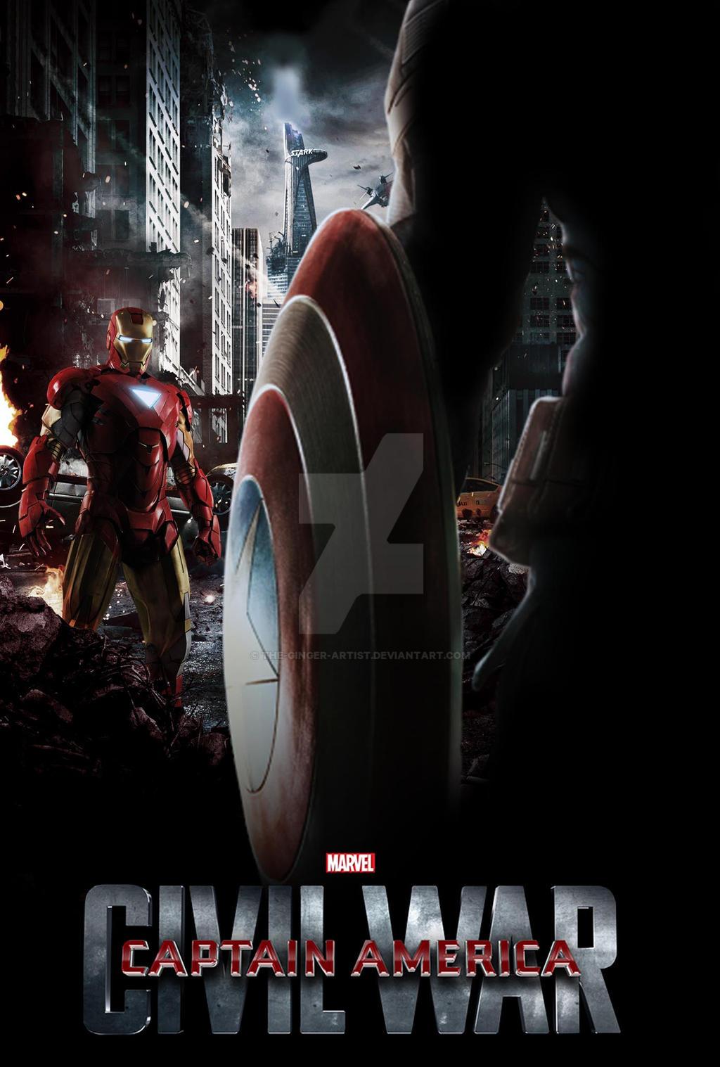 Great Wallpaper Movie Captain America Civil War - captain_america__civil_war_poster_by_the_ginger_artist-d8g6cua  2018_793939.jpg