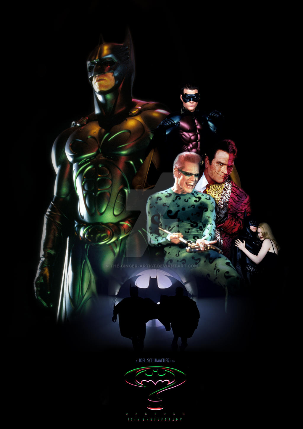 Batman Forever 20th Anniversary Poster by The-Ginger ...