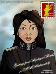Postcard from Lt. Naja Maskauwitchz by Rollov2013