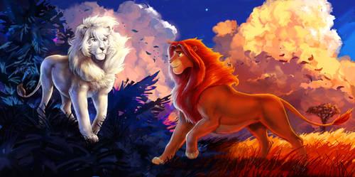 Two Kings by SoihtuSS