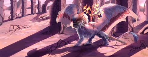 Ghostlight Sentinel by laticat