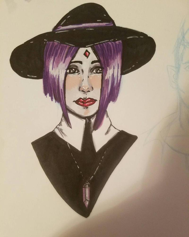raven color scheme by TinyfoxTrot
