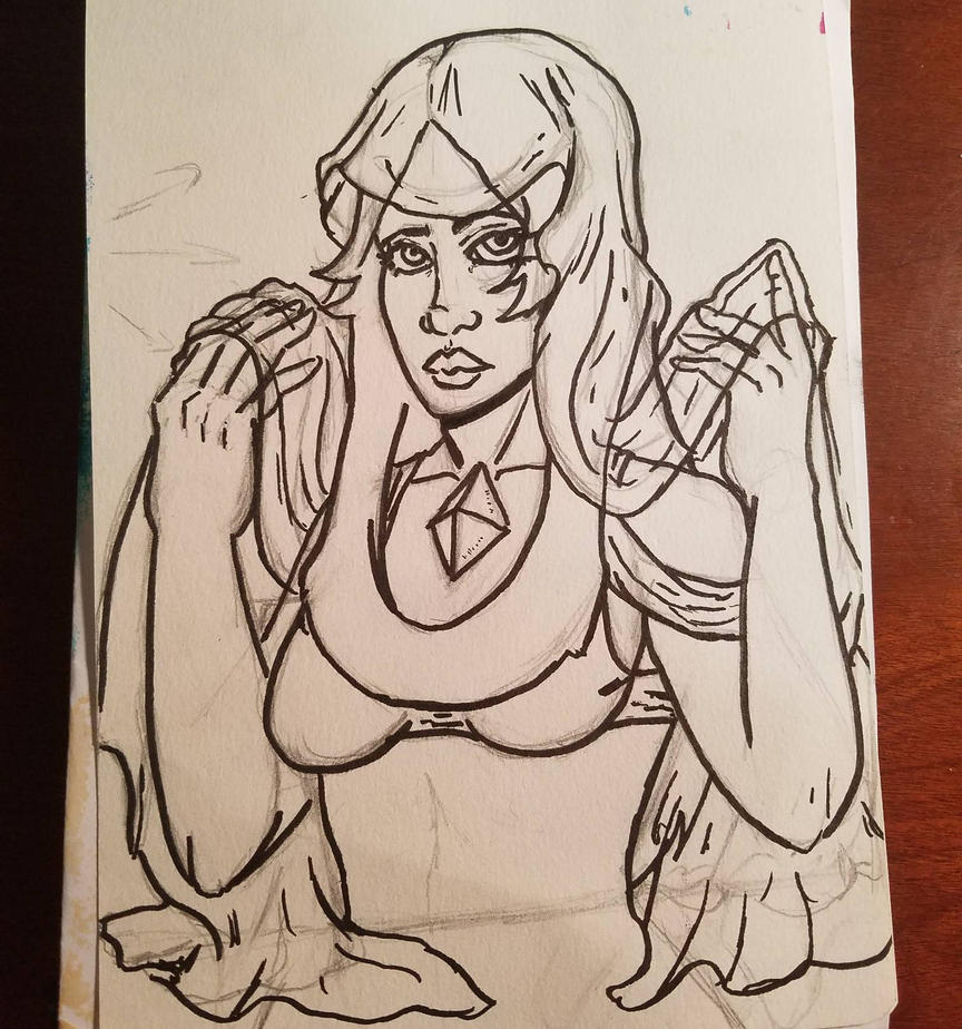 Blue Diamond WIP by TinyfoxTrot