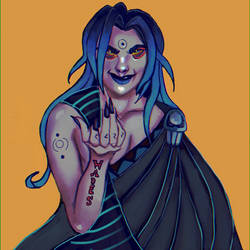 Queen Hades by imkies