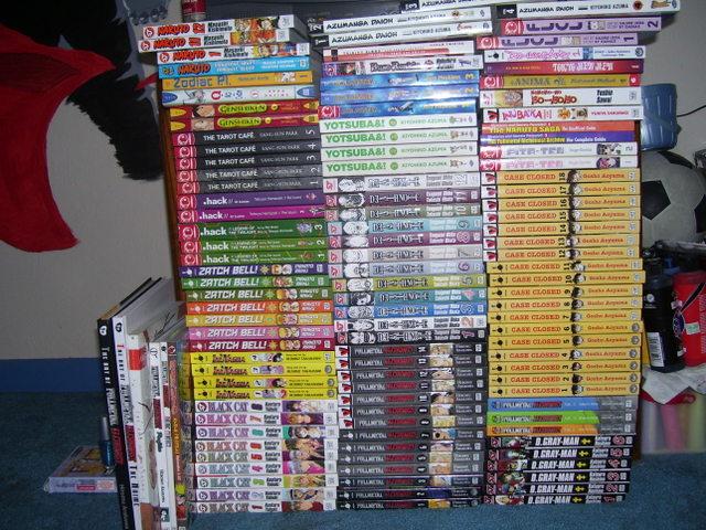 My Manga Collection By Haileyjo13