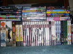 My anime DVD collection