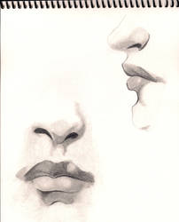 Lips and noses