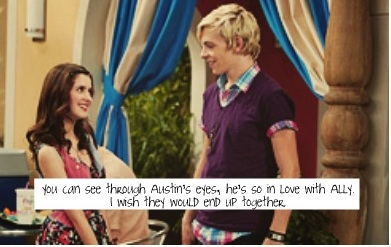 will austin and ally start dating The odds of making it in the music biz are a billion to one, but the unlikely partnership of austin and ally is headed straight to the top get ready to rock out on dvd with disney channel's hottest musical duo, austin & ally, in all the write moves austin moon (ross lynch) is an extroverted musician and singer , and ally.