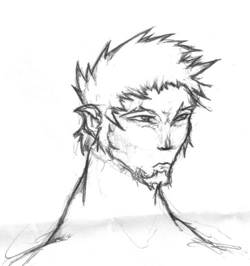 Expressing dude ballpoint by eniosus