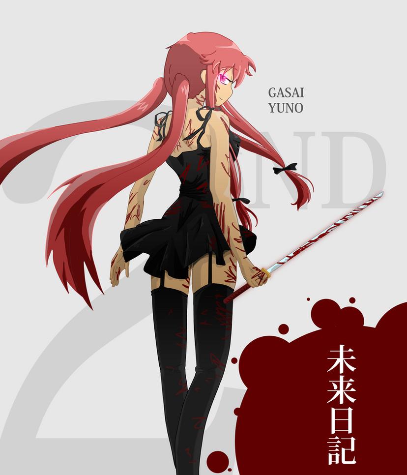Gasai Yuno by DarkxxCrow