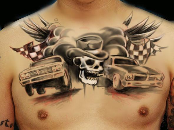 Chest Tattoo Joachim By Shaeriff On DeviantArt
