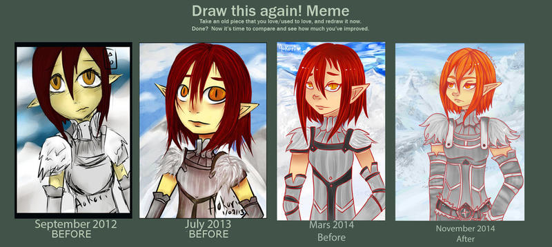 Improvement 3~4 years by Aokori