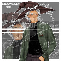 [CLOSED] Adoptable Necromancer Boy !