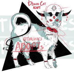 [CLOSED] Adoptable Demon Cat 01 !