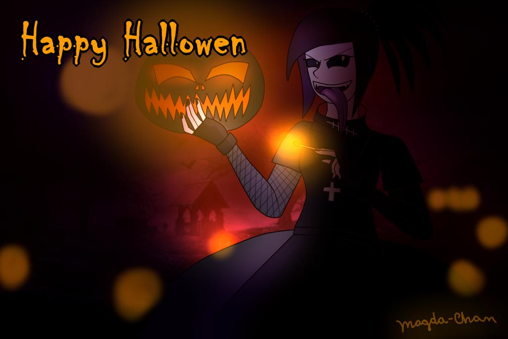 Hallowen By Magda-chan by magdalenagirl on DeviantArt