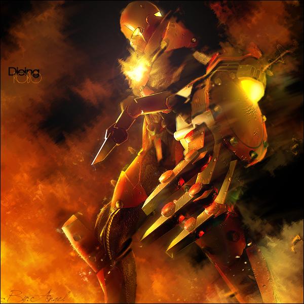 Dieing Robo by ArtisticStudios