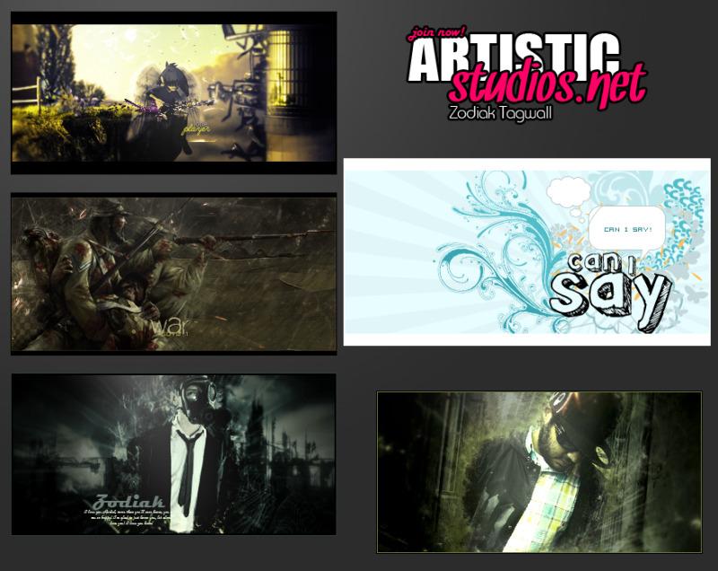 Zodiak  tagwall by ArtisticStudios