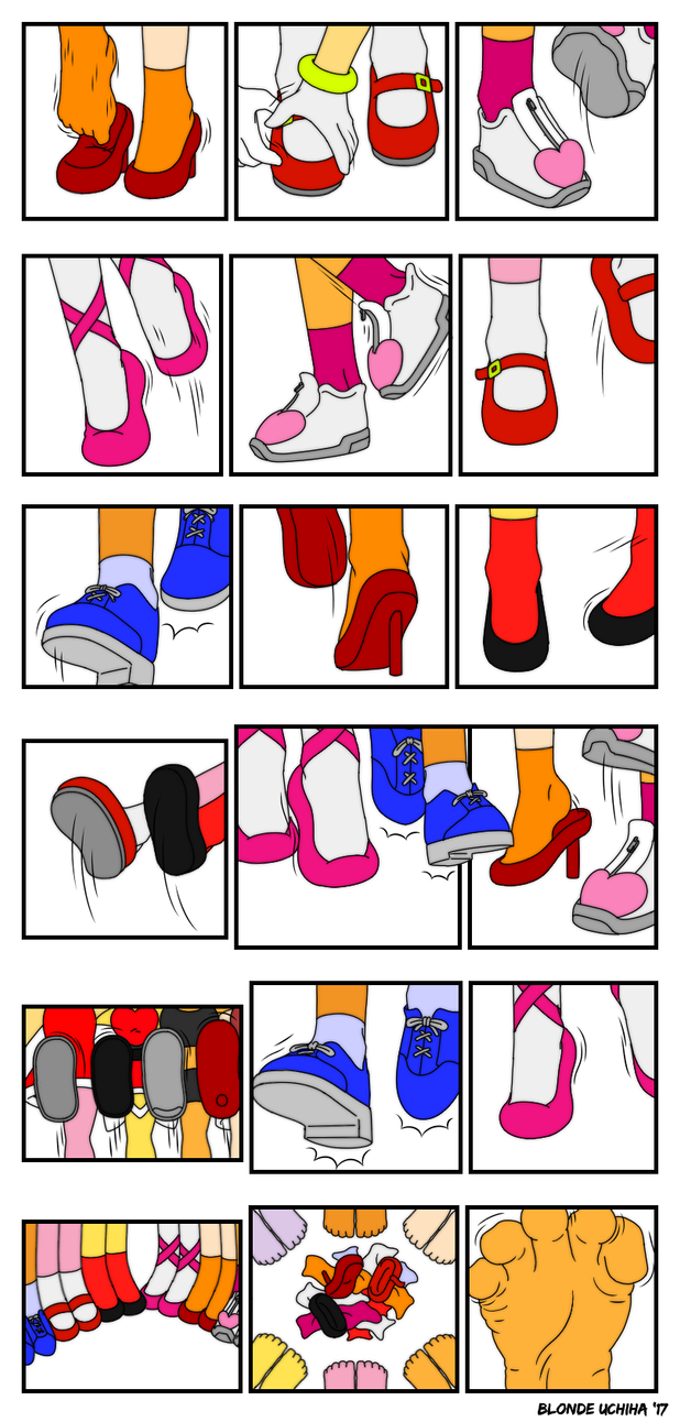 Sonic girls feet