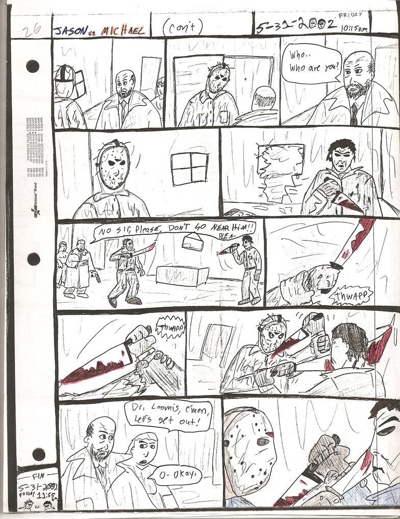 JASON vs. MICHA... Jason Vs Michael Myers Comic