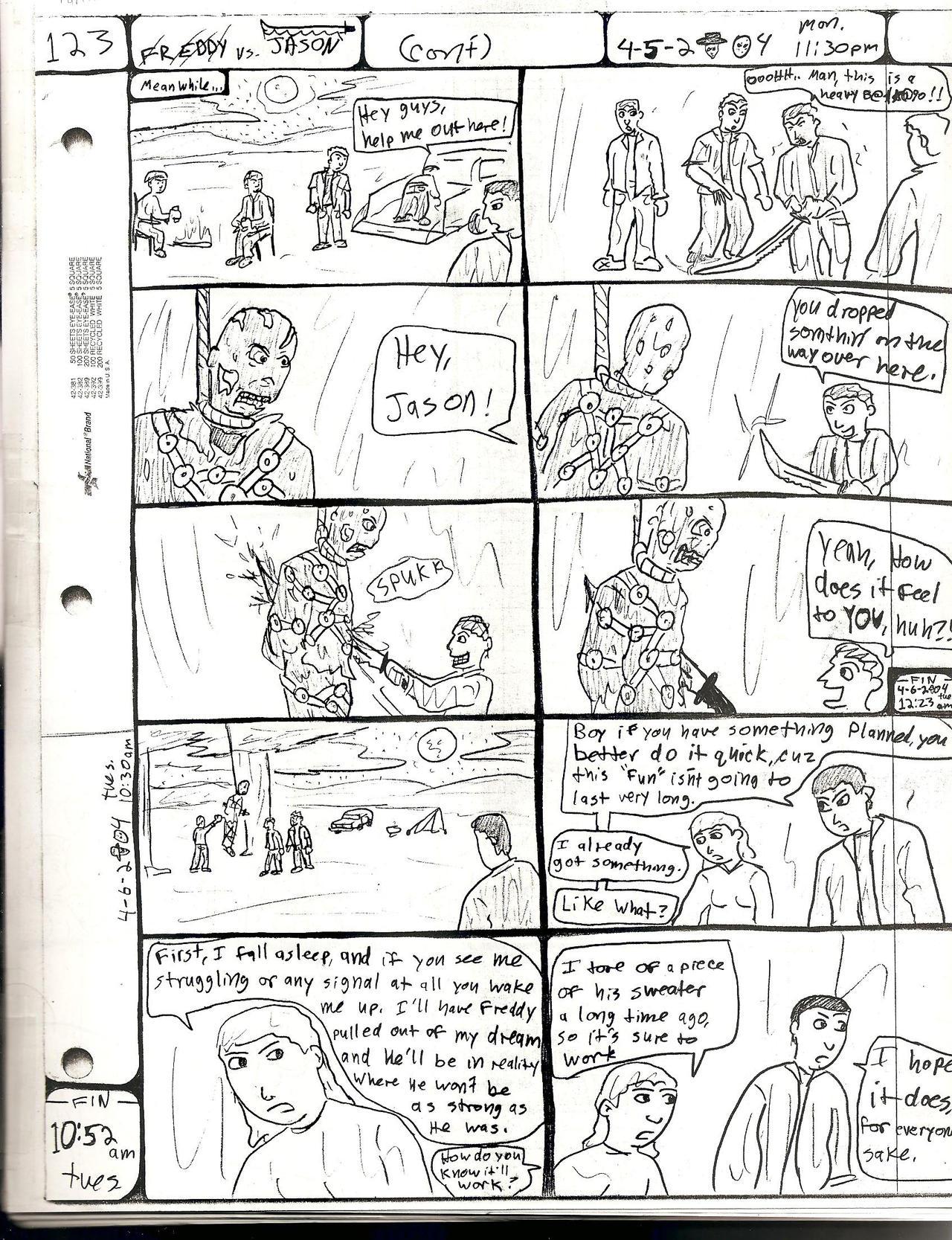 FREDDY vs. JASON pg.123 by DW13-COMICS