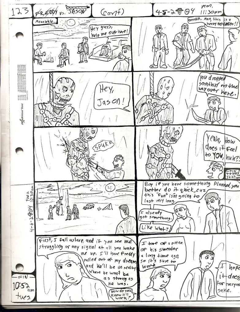 FREDDY vs. JASON pg.123 by DW13-COMICS