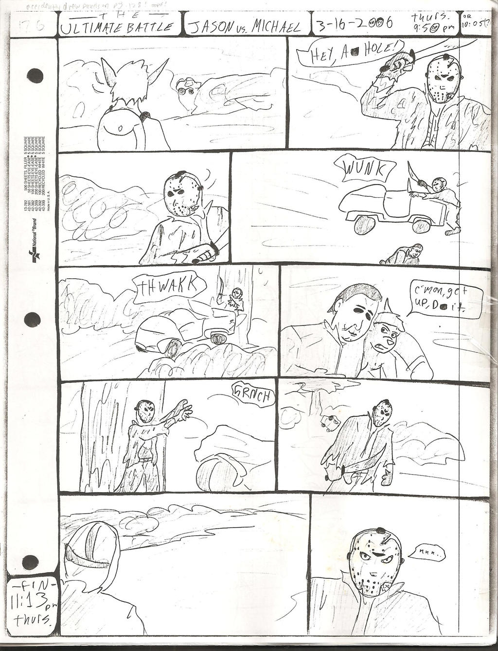 THE ULTIMATE BATTLE pg.126 by DW13-COMICS