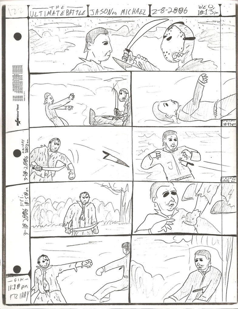 THE ULTIMATE BATTLE pg.122 by DW13-COMICS