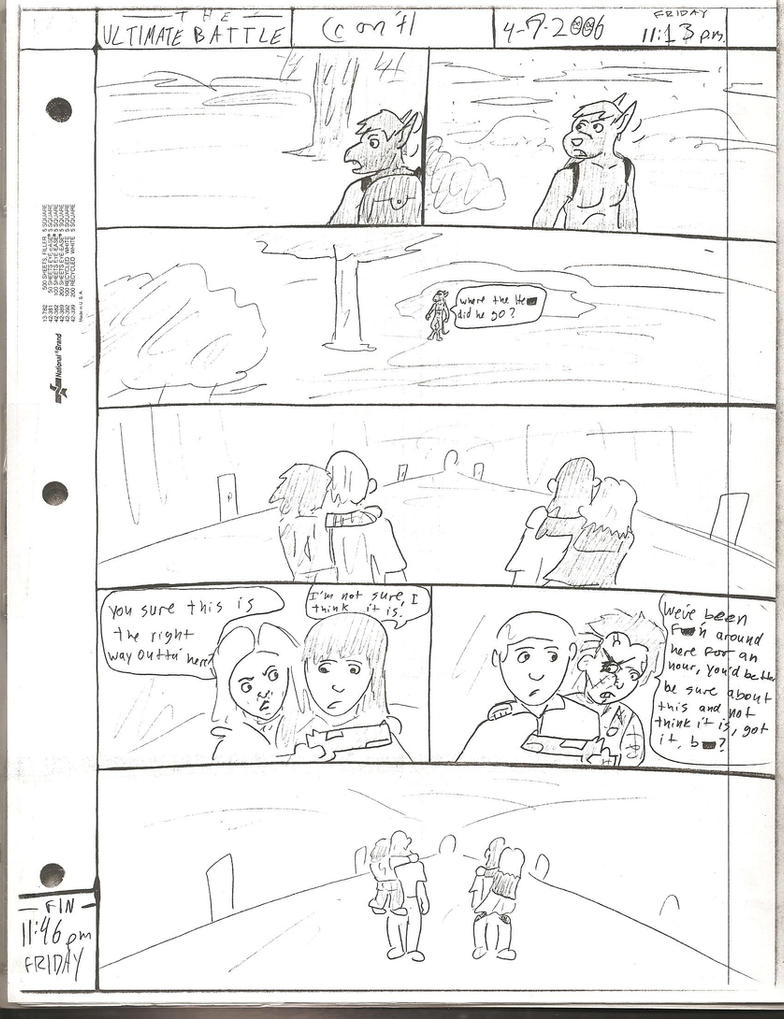 THE ULTIMATE BATTLE pg.139 by DW13-COMICS
