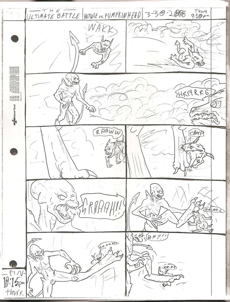 THE ULTIMATE BATTLE pg.134 by DW13-COMICS