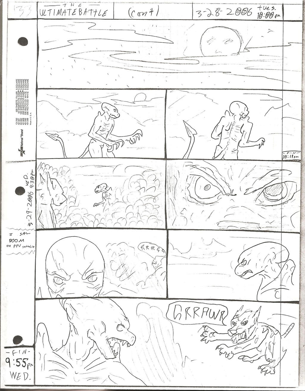 THE ULTIMATE BATTLE pg.133 by DW13-COMICS