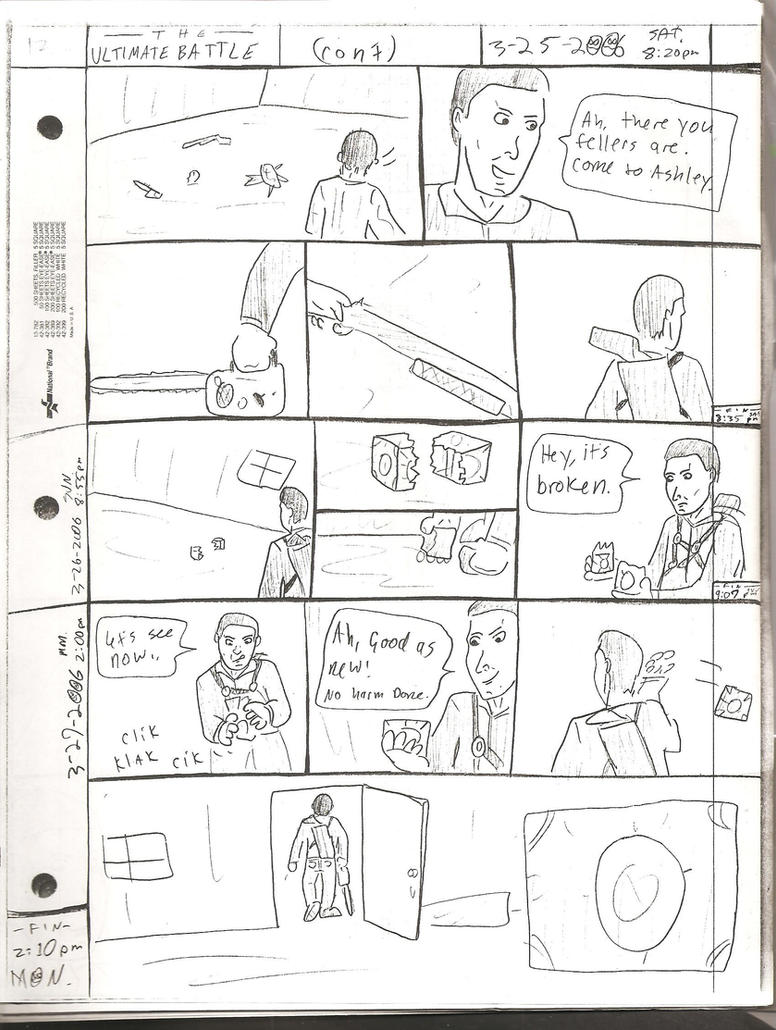 THE ULTIMATE BATTLE pg.132 by DW13-COMICS