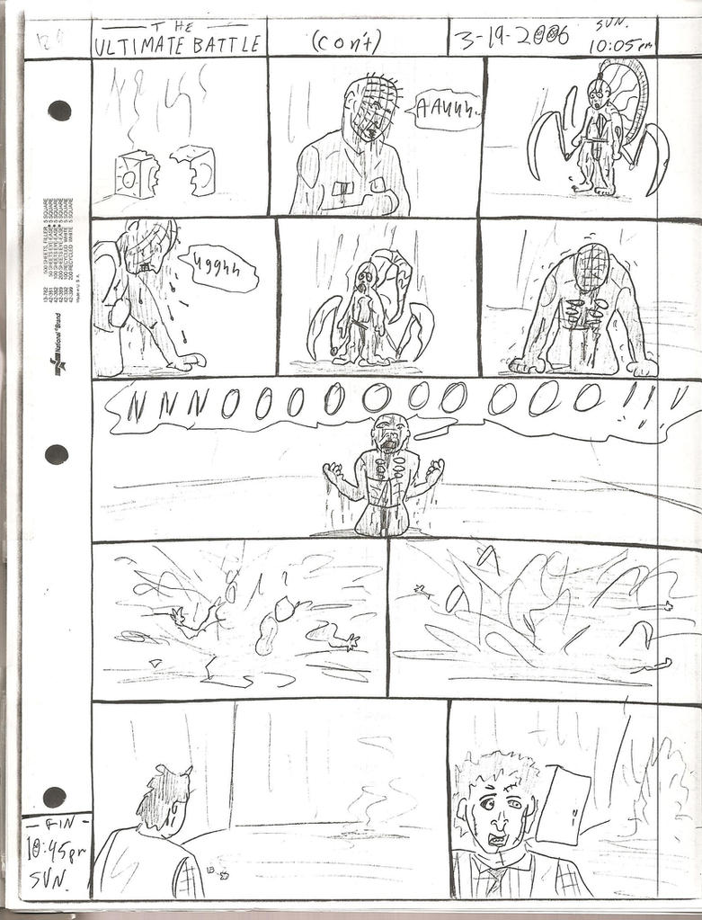 THE ULTIMATE BATTLE pg.129 by DW13-COMICS
