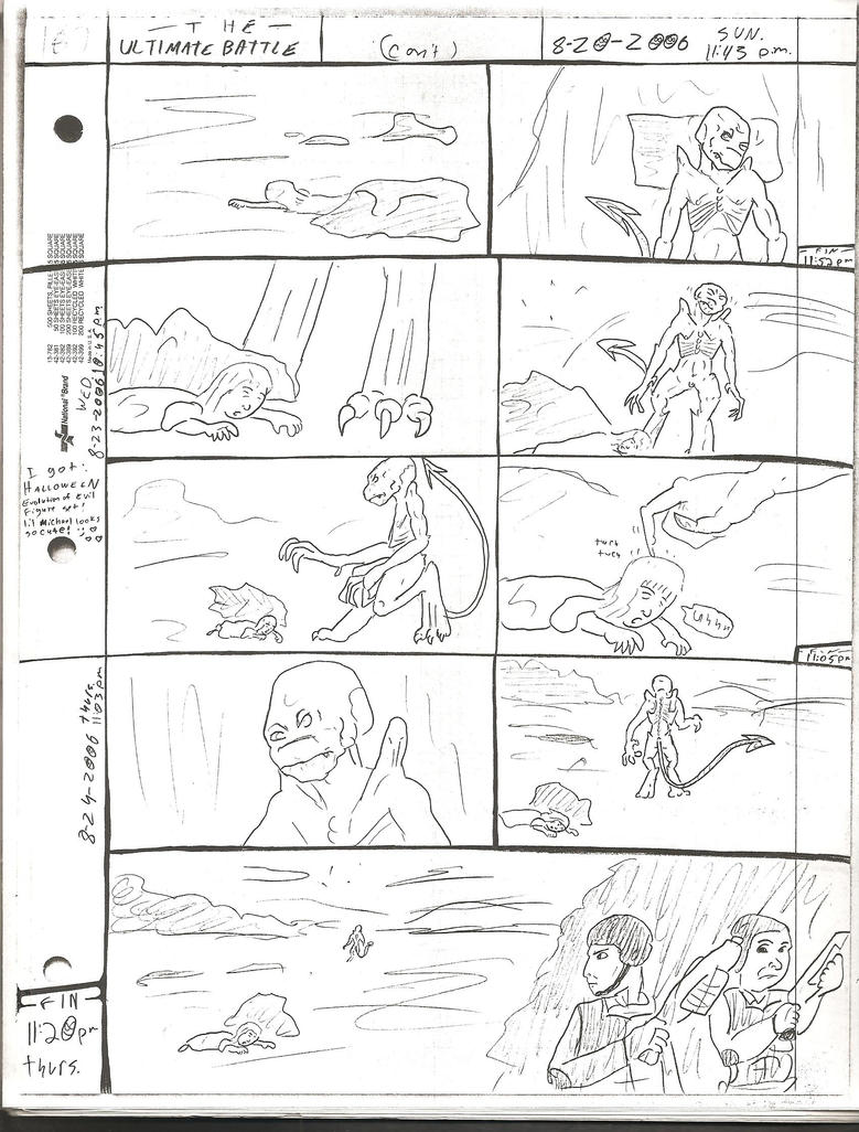 THE ULTIMATE BATTLE pg.187 by DW13-COMICS