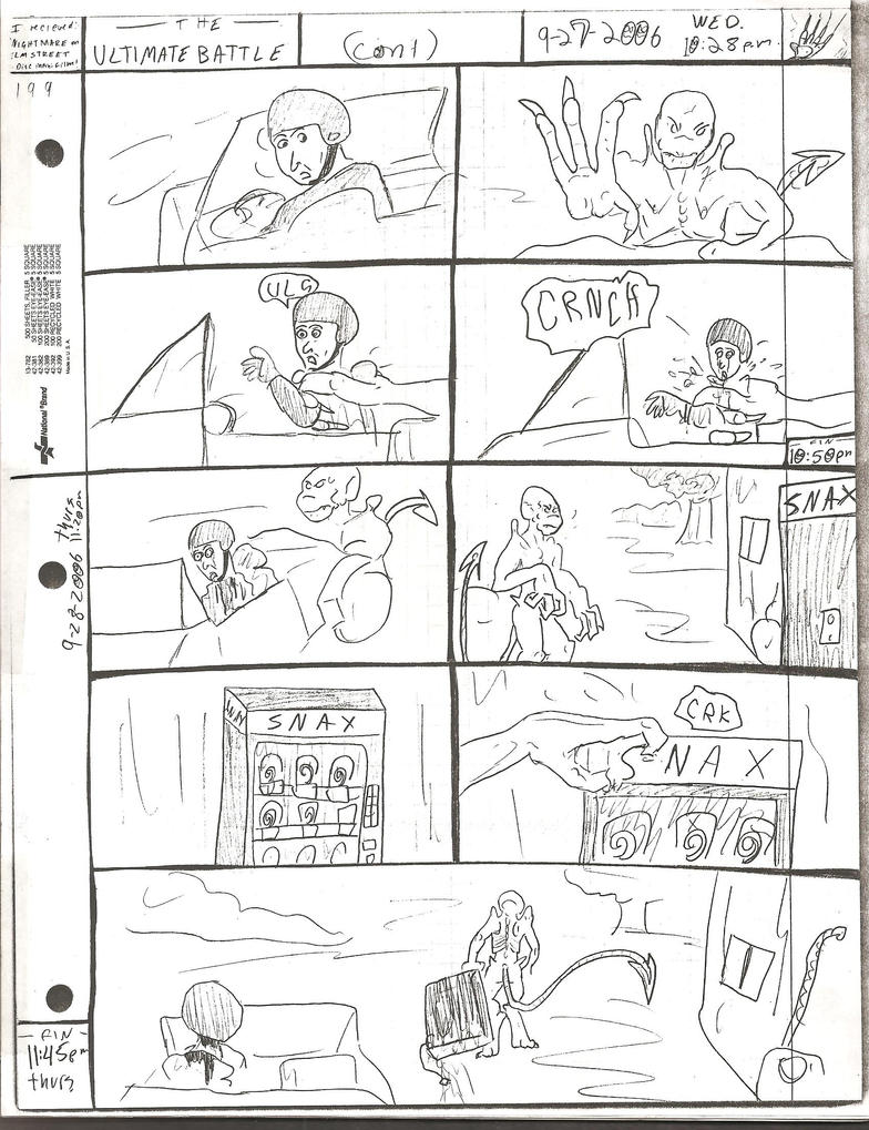 THE ULTIMATE BATTLE pg.199 by DW13-COMICS