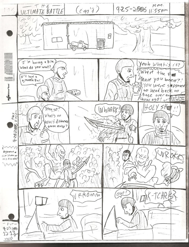 THE ULTIMATE BATTLE pg.198 by DW13-COMICS