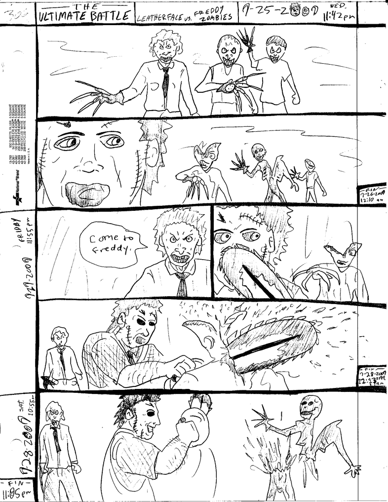 THE ULTIMATE BATTLE pg.306 by DW13-COMICS