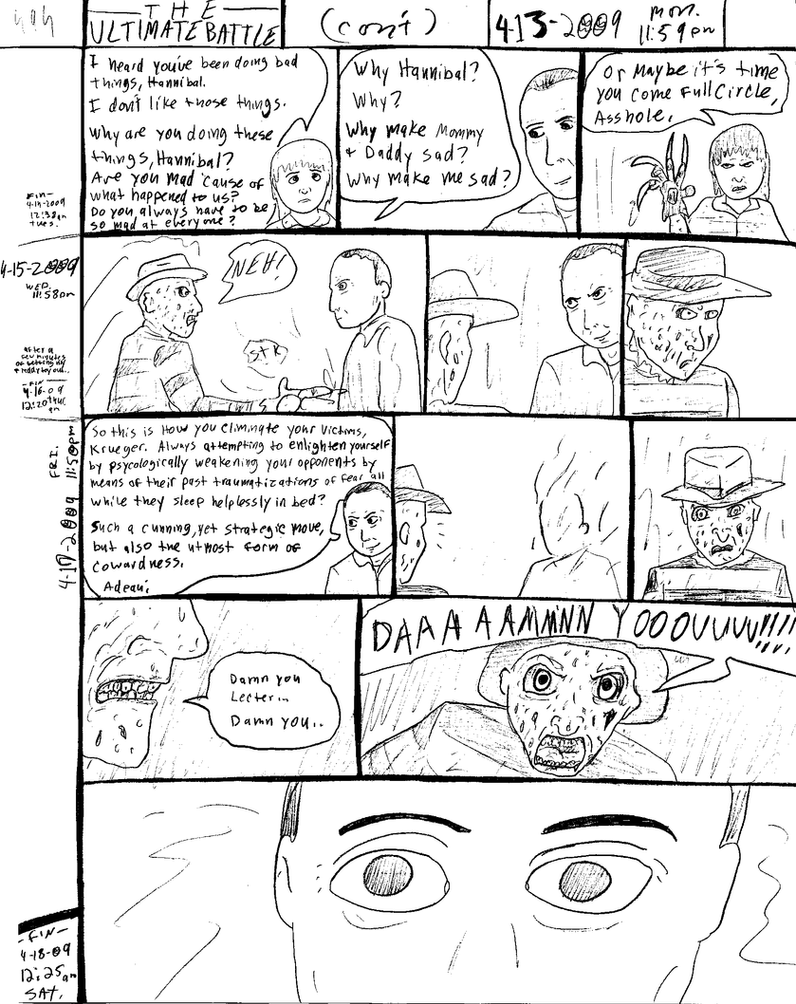 THE ULTIMATE BATTLE pg.494 by DW13-COMICS