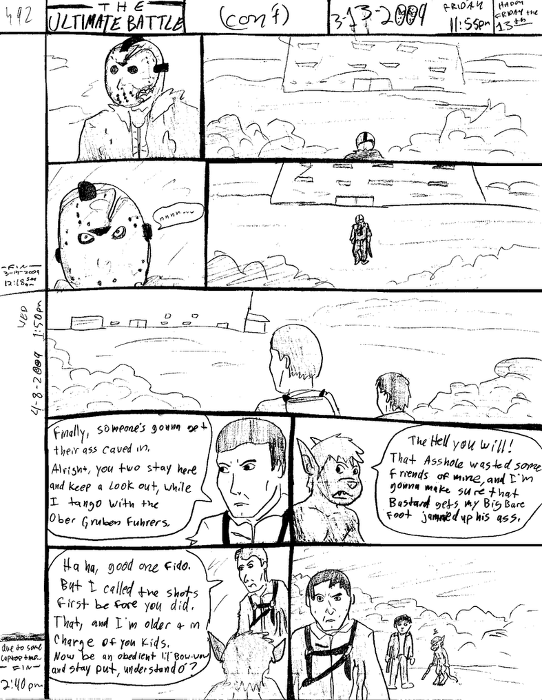 THE ULTIMATE BATTLE pg.492 by DW13-COMICS