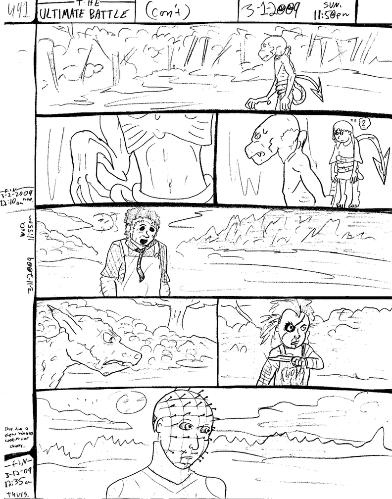 THE ULTIMATE BATTLE pg.491 by DW13-COMICS