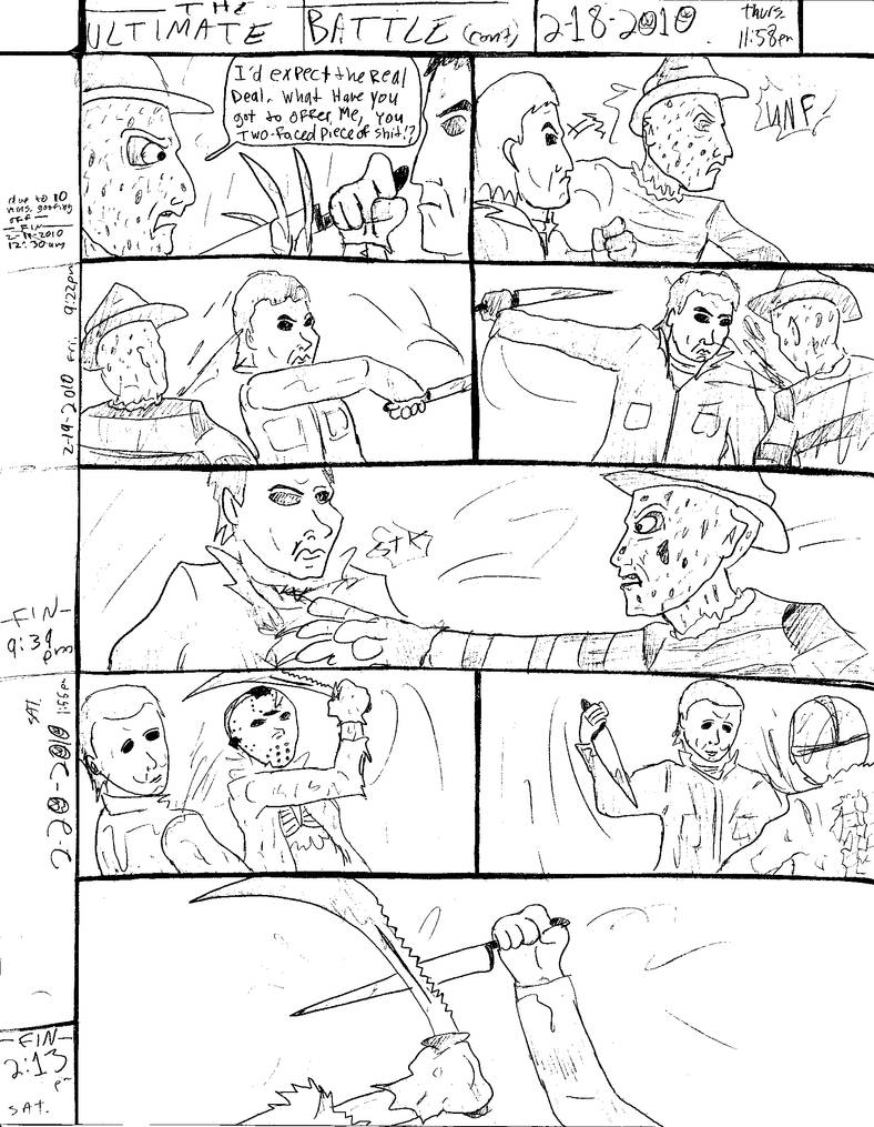 THE ULTIMATE BATTLE pg.578 by DW13-COMICS