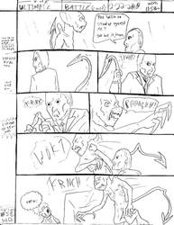 THE ULTIMATE BATTLE pg.580 by DW13-COMICS