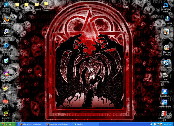 Hellsing Desktop by Alucard012