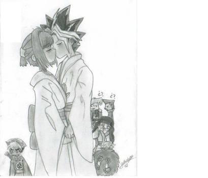 a legendary kiss