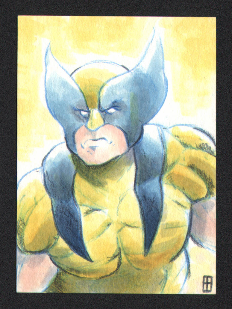 18.4.22 Wolverine yellow costume by turtlespopart