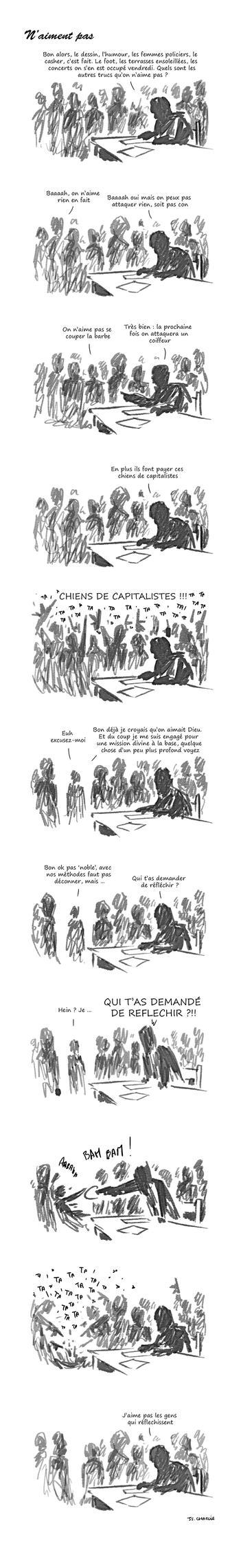 N'aiment pas by Gandalfleblond
