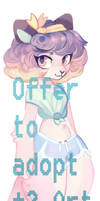 Offer to Adopt + Extra Art (Open) by JuniperCruse
