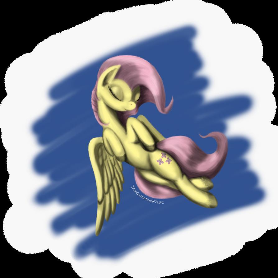 Fluttershy Sleepyhead by idontrunntoofast