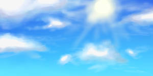 Cloudy Sky Test by RynoDash