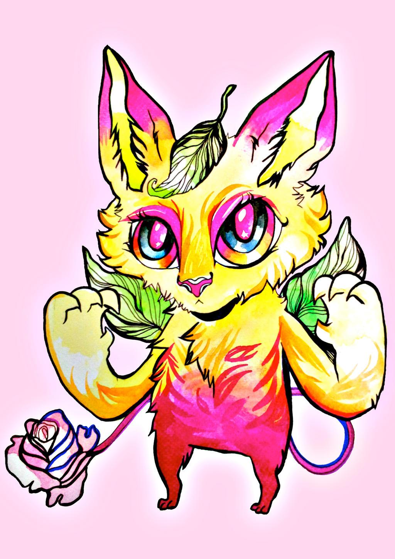 Lola (Watercolour Chibi) by ClaraBacou
